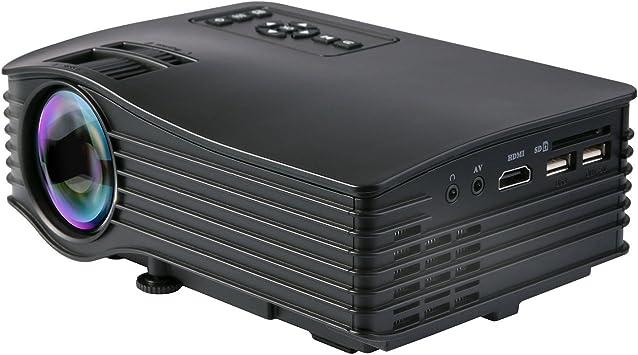 Videoproyector, Deeplee DP36 LCD LED Mini Proyector Home Cinema ...