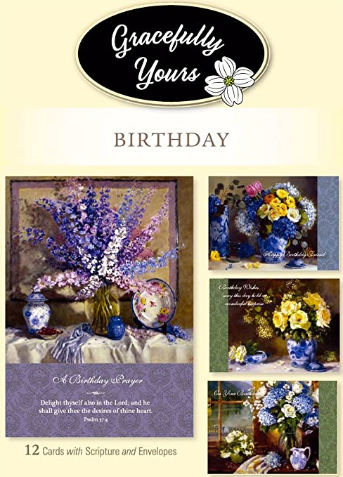 Amazon Gracefully Yours Birthday Greeting Cards