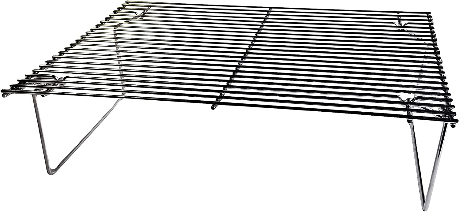 Green Mountain Grills GMG-6035 Collapsible Upper Rack for Daniel Boone Pellet Grill, Stainless Steel