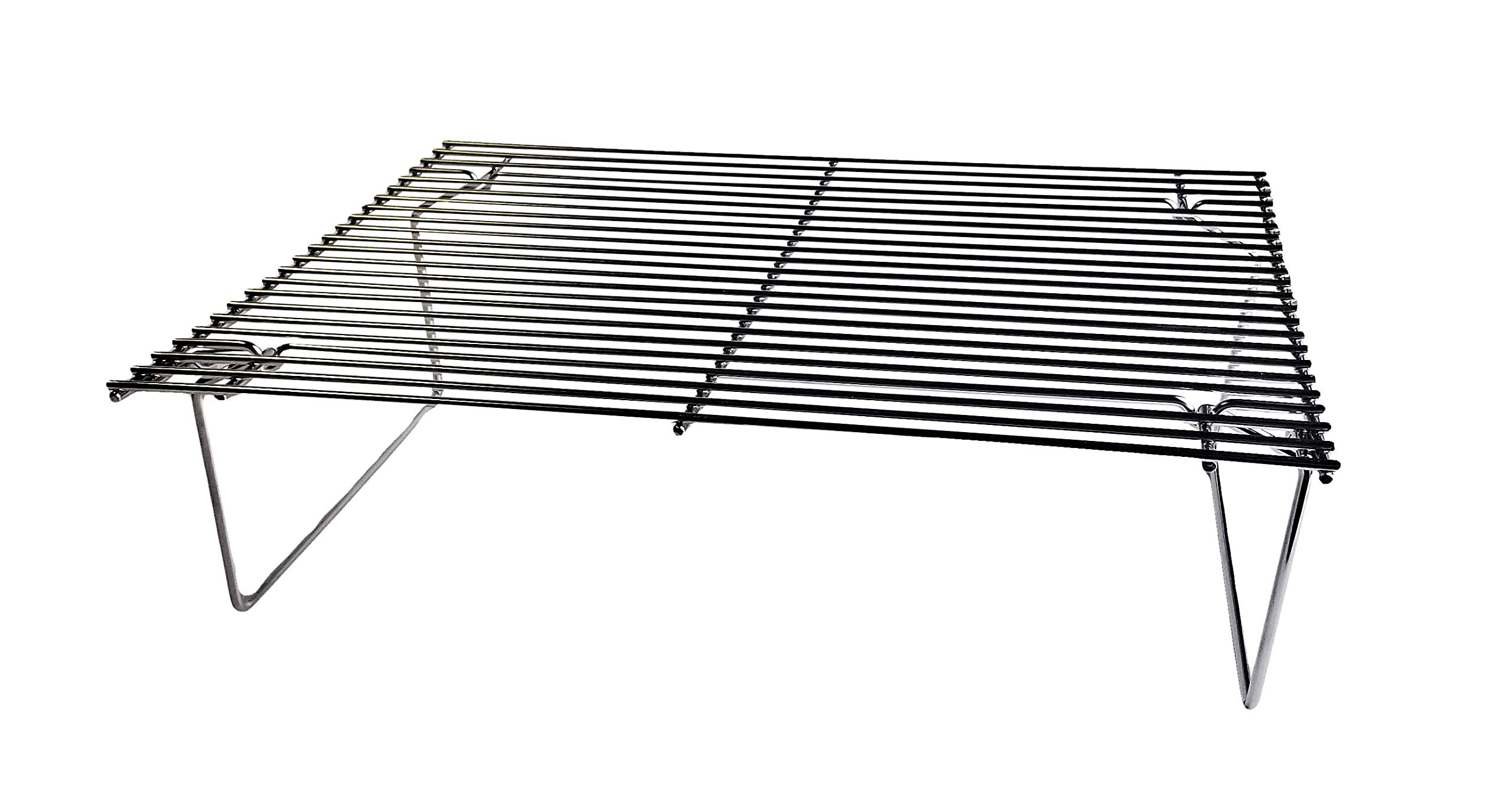 Green Mountain Grills GMG-6035 Collapsible Upper Rack for Daniel Boone Pellet Grill, Stainless Steel by Green Mountain Grills