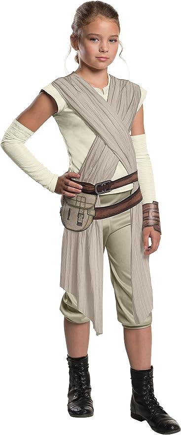 Rey Costume Adult Star Wars The Force Awakens Halloween Fancy Dress