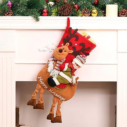 """18.11 """"x 6,30"""" grande de calcetines de Navidad – -Diseño"""