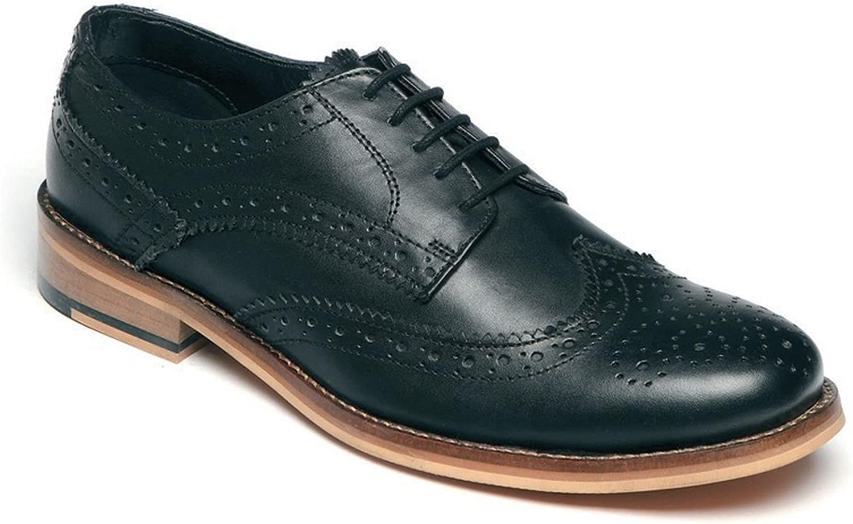 Mens Shoes Slip On Brogues Smart Wedding Dress Suit Formal Size