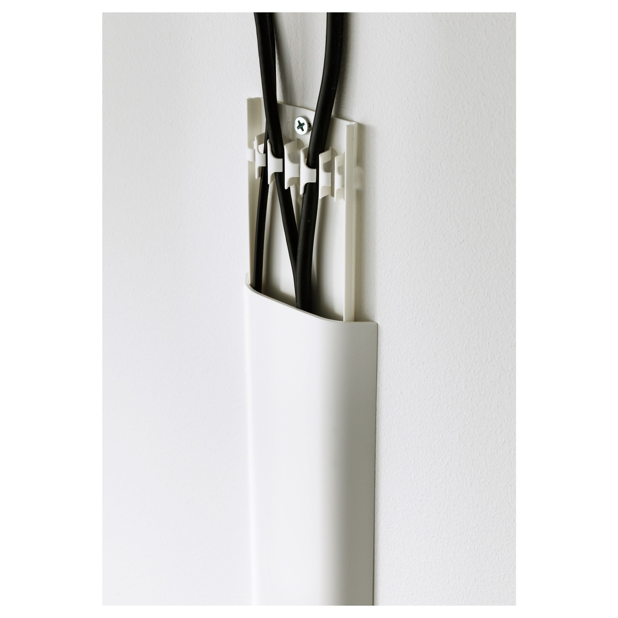 ikea UPPLEVA Cable cover strip, white