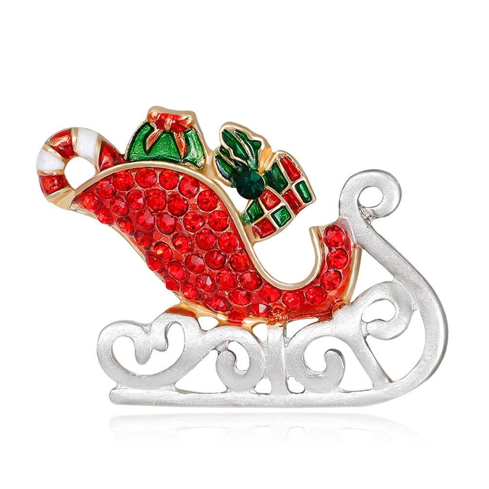 Sanwood Damen Chic Santa Schlitten Weihnachts Mottoparty Multicolor ...