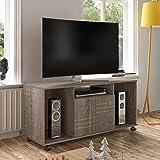 Artely França TV Table for 47 inch TV, Cinnamon Brown, w 120 cm x d 41.5 cm x h 67 cm