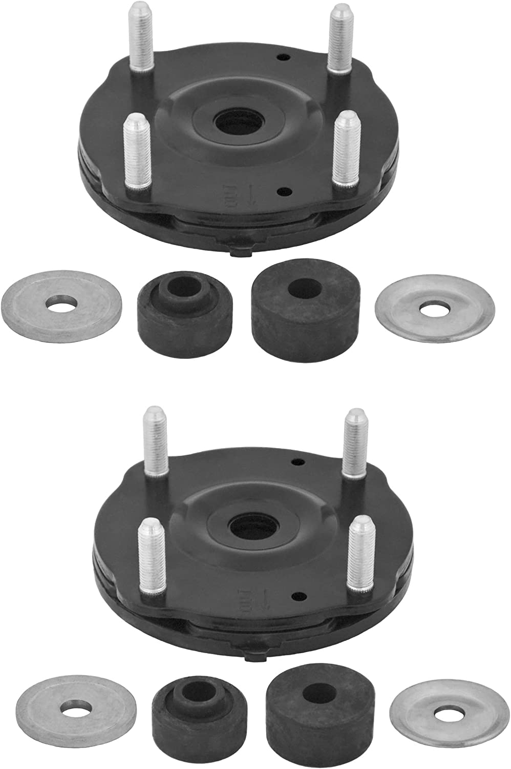 Pair Set Of 2 Front KYB Suspension Strut Mounts Kit For Toyota Sequoia 2008-2014 Tundra 2007-2016 NEW
