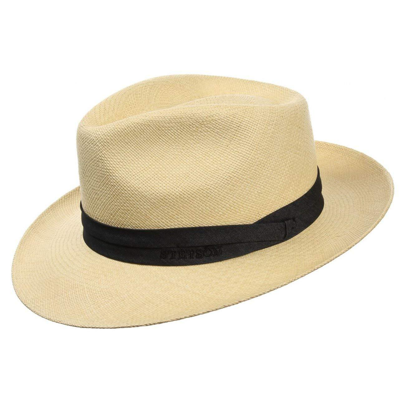 6a83f3562abc1 Stetson Jenkins Panama Hat hats straw  Amazon.co.uk  Clothing