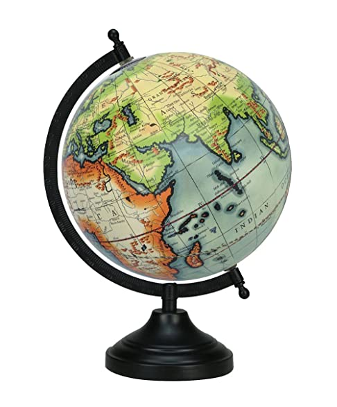 Decorative 13 Rotating World Globe Office Table Home Decor Gift Globes