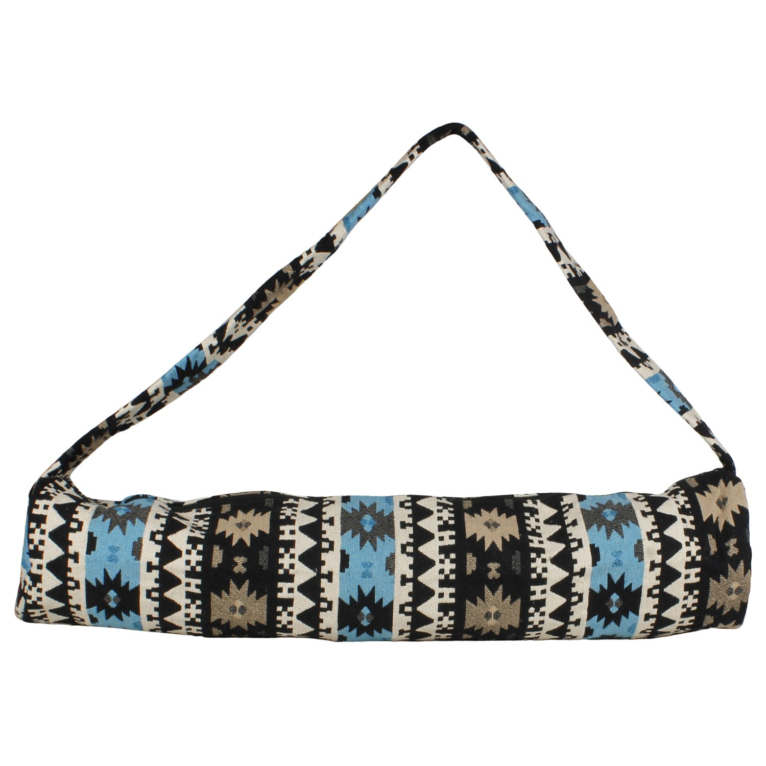 Indian Stylish Yoga Mat Cotton Bag,Light Weight Exercise Mat Cover,size 27