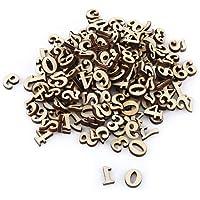 200 letras de madera mixta A-Z/Carts de 0