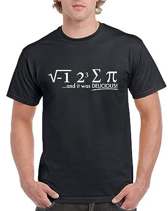 918c5b826 Amazon.com: I ate Some Pie (i 8 Sum Pi) Math Equation Men's T-Shirt ...