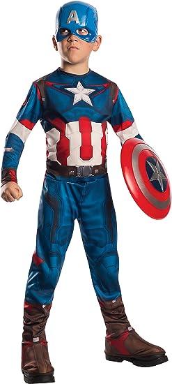 Rubie`s Marvel 610424-L- Disfraz Capitán América Set con disfraz y ...
