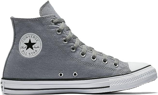 Listo Hamburguesa oferta  Amazon.com: Converse mujer Chuck Taylor All Star Hi Canvas Zapatillas: Shoes