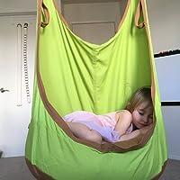 eggdel Frosch zum Aufhängen Pod Swing Sitz Innen- und Outdoor Hängematte für Kinder bis Erwachsene