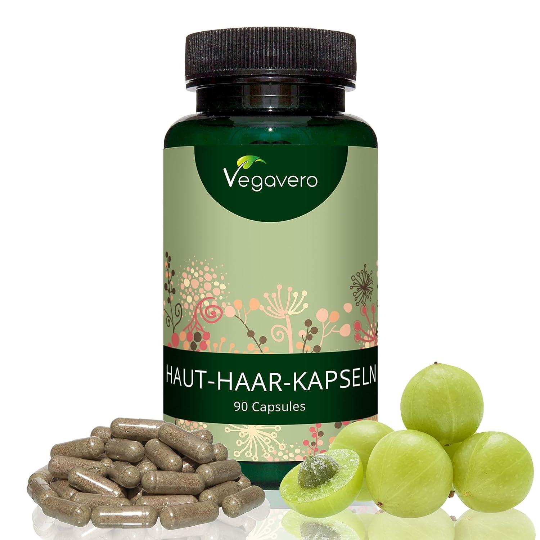Vitamina para el Cabello y Piel | 90 cápsulas - suplementos natural ...
