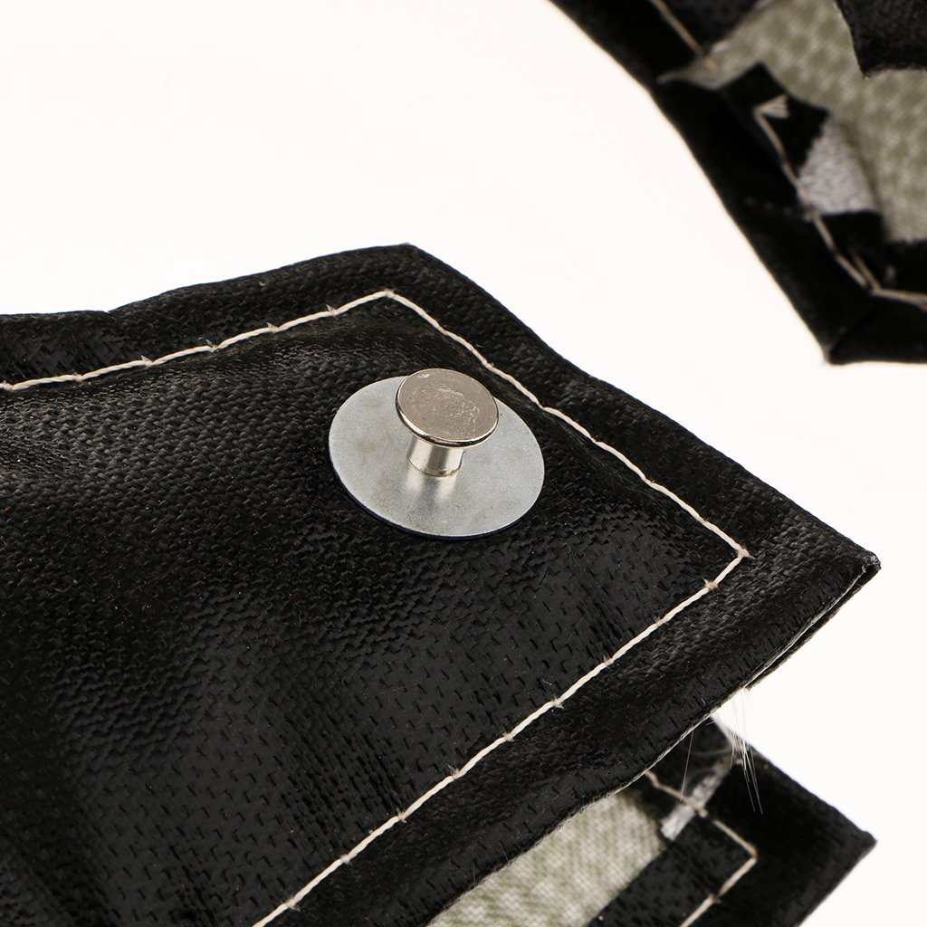 Homyl Great Performance T6 Turbo Blanket Heat Shield Turbocharger Cover black