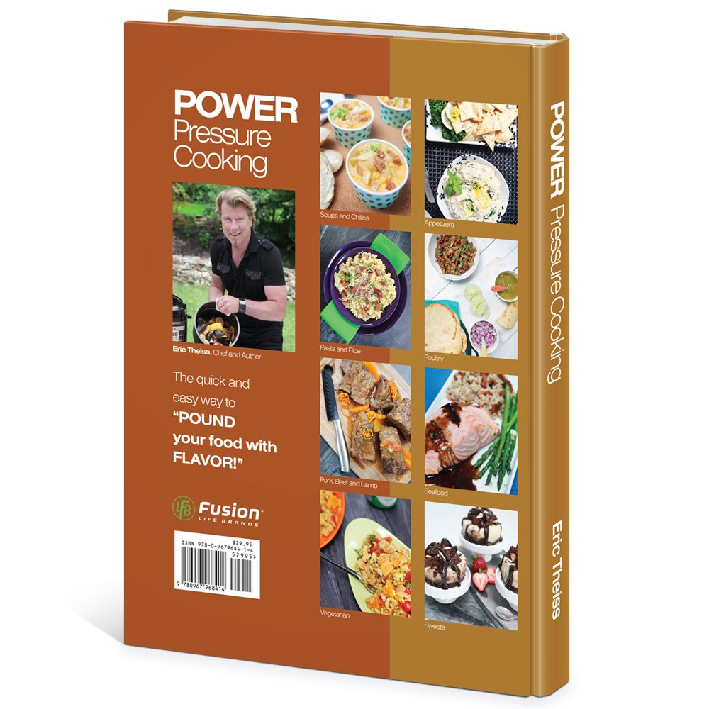 Power Pressure Cooker XL 10 Qt with Eric Theiss' Power Pressure Cooking Cookbook by Power Pressure Cooker XL (Image #6)