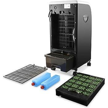 Mobile Klimageräte gibt es in ganz unterschiedlichen Bauweisen.