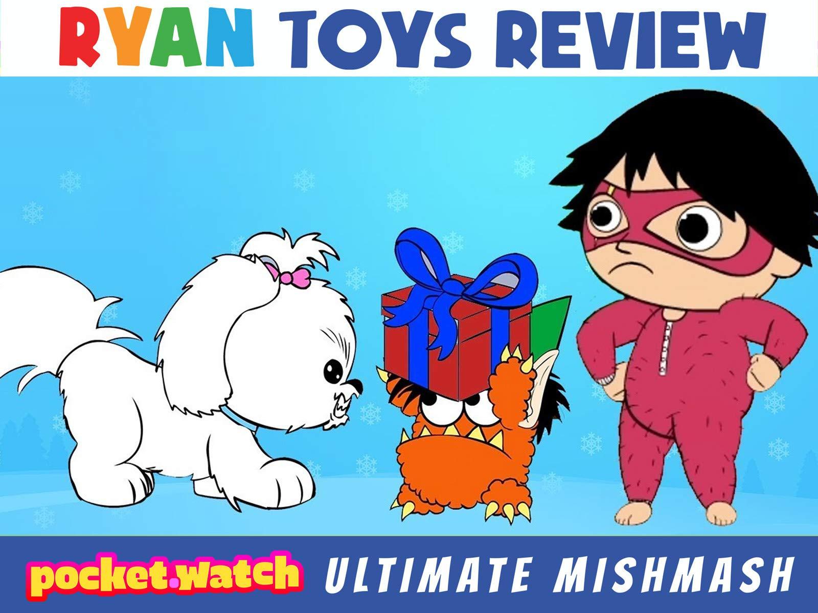 Amazon.com: pocket.watch Ryan Toys Review Ultimate mishmash ...