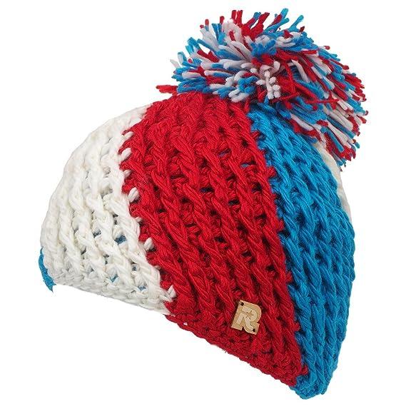 fashion styles good 100% quality RMOUNTAIN - Bonnet Pompon Bleu Blanc Rouge avec pompon par ...