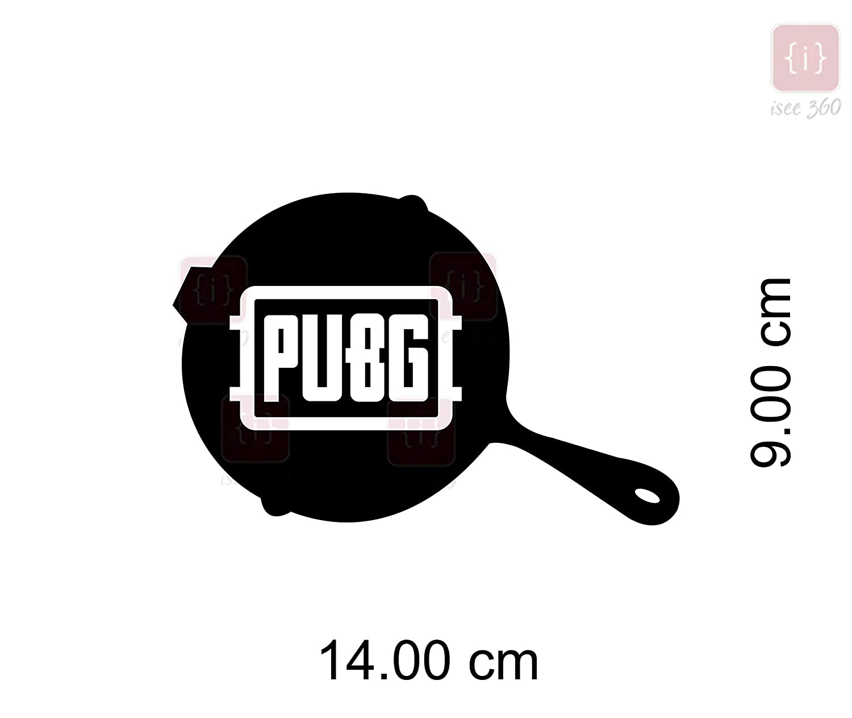 Isee 360 Pubg Logo Playerunknown S Battlegrounds Sticker For Car