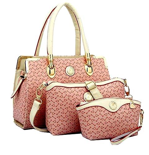 DI GRAZIA Women s 3 In 1 Combo Of Handbag Satchel 6c8c2e5f02813