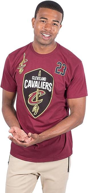 Unk NBA Lebron James Cleveland Cavaliers - Camiseta de Manga Corta ...