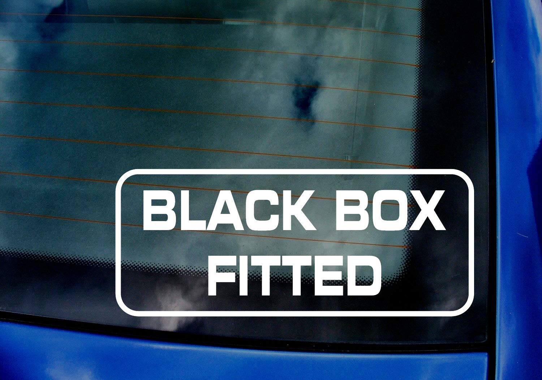 New Driver Insurance Car Van Window Windscreen Bumper Vinyl Die Cut Custom Stickers Decals Graphics 200mm x 82mm White Mr.Pro Black Box Fitted