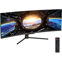 Buydig.com deals on Deco Gear VIEW490 49-inch LED HDR400 Curved Gaming Monitor