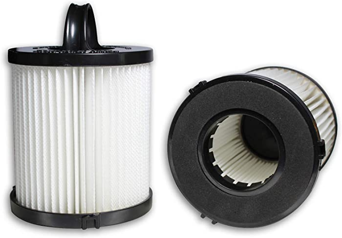ATXKXE DCF-21 HEPA Filter fit Eureka Airspeed AS1000 Series Upright Vacuum Cleaner, Compare to Part # 67821, 68931, 68931A, EF91 (2 Pack)