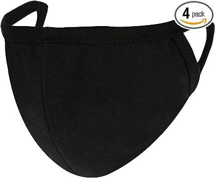 1 Cotton Black Massk Unisex