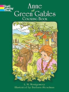Anne Of Green Gables Coloring Book Dover Classic Stories