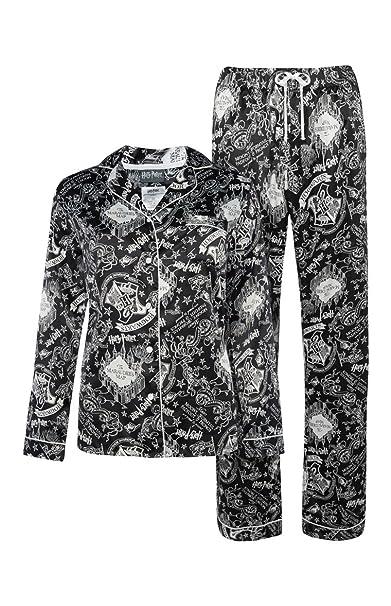 Love to Lounge - Pijama - para mujer multicolor negro/blanco Mujeress M