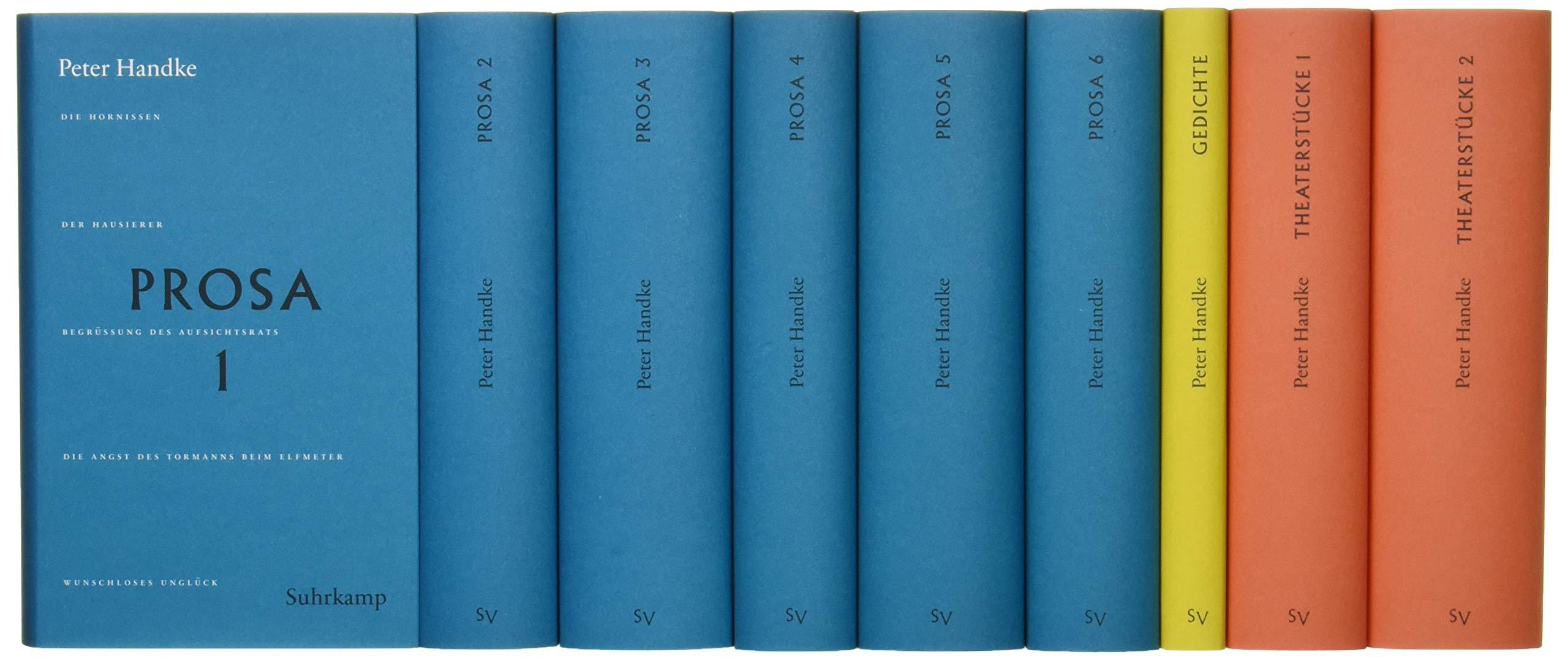 Handke Bibliothek I: Bnde 1-9: Prosa, Gedichte Theaterstcke: Amazon.es: Handke, Peter: Libros en idiomas extranjeros