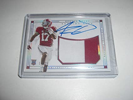 competitive price 10af7 e21af Kenyan Drake Alabama National Treasures Game Used Jersey ...