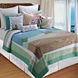 Whispering Sands King Quilt by C & F