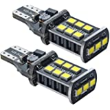 ARH Auto Accessories 15 SMD T10 501 W5W Sidelight Bulbs 12 V 5 W Pack of 2 Pure White Light 6000k