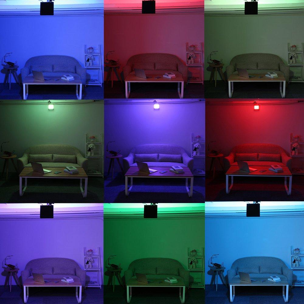 Strobe Light,SOLMORE 108 LEDs Stroboskop Disco Strobe B/ühnenbeleuchtung Musikgesteuert mit RF-Fernbedienung f/ür Party Hochzeit Stadium