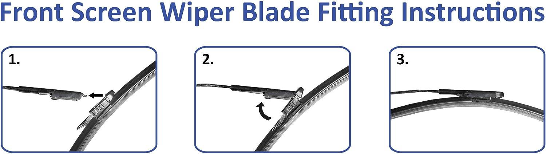 Blades Direct TP-11 Wiper Blades Mercedes-Benz A Class