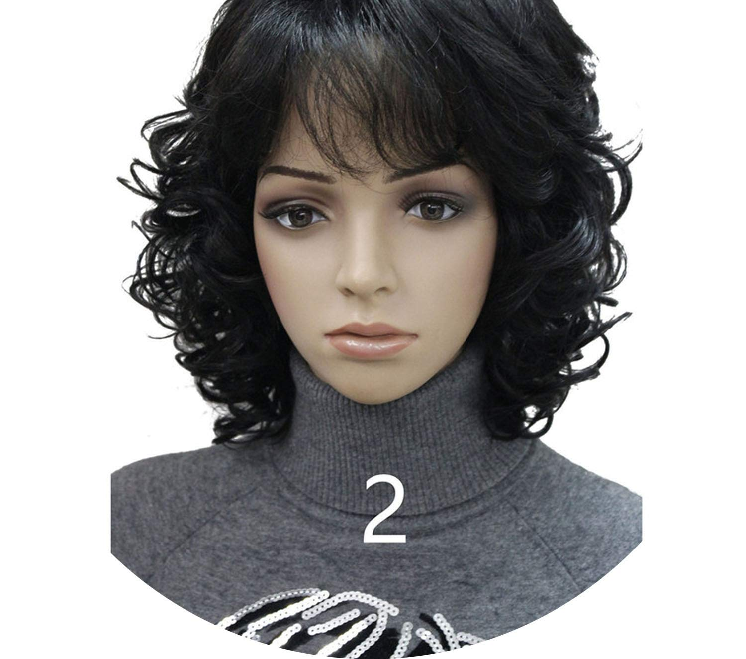 Amazon.com : Strong Beauty Medium Short Curly