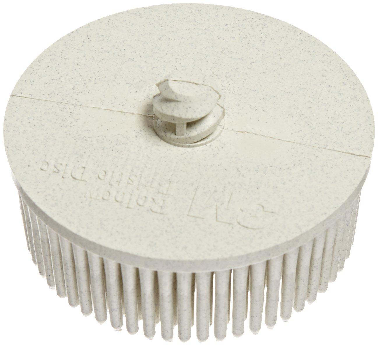 TM 2 Diameter 120 Grit Scotch-Brite Ceramic Bristle Disc 25000 rpm TM Pack of 10 Roloc White