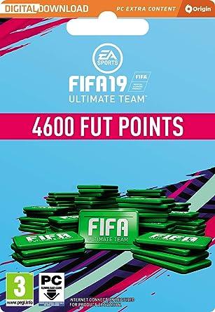 fifa 19 ultimate team 4600 fifa points pc download origin code