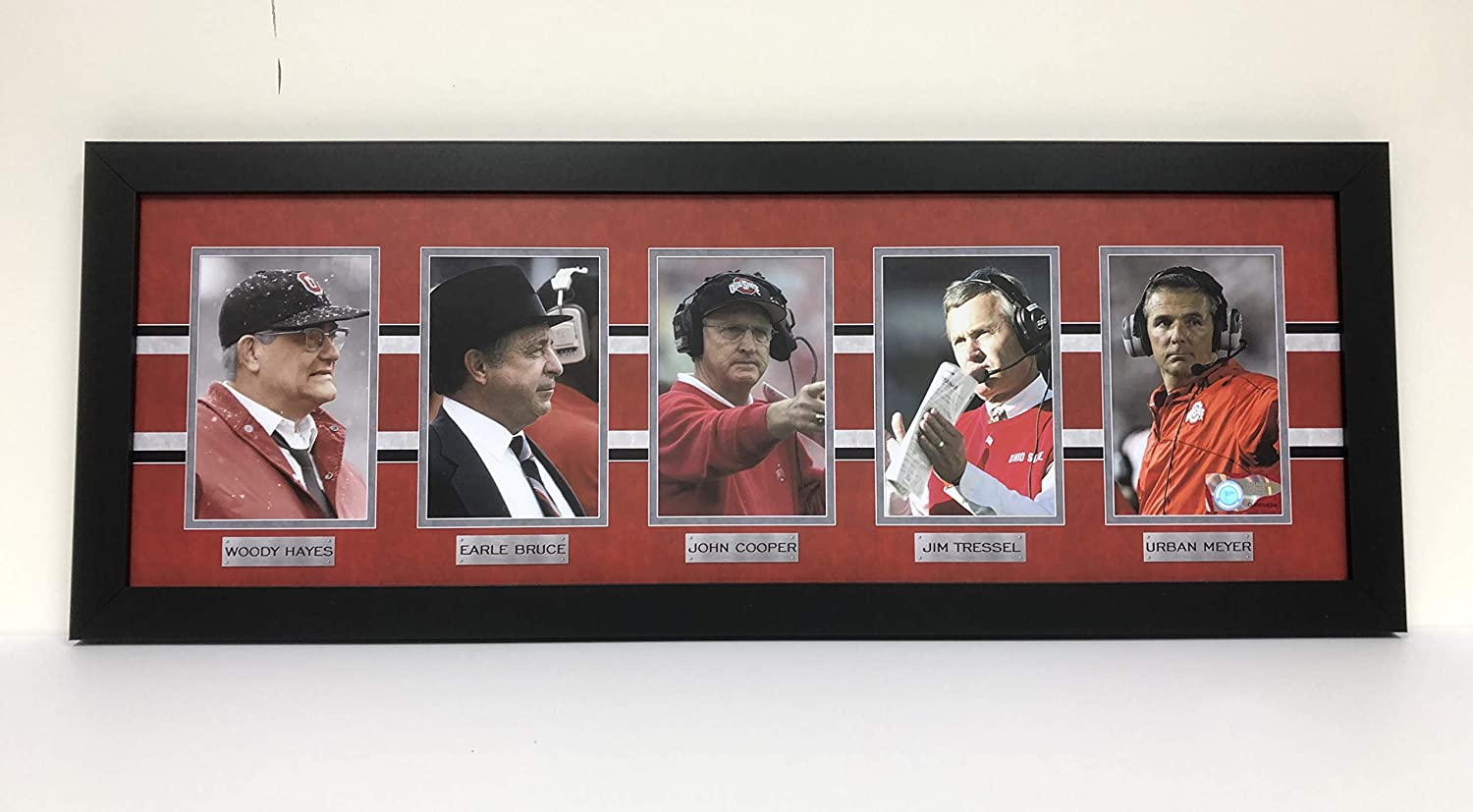 Ohio State Buckeyes- Coaches Legacy Mini -Framed Photo Ohio Sports Marketing