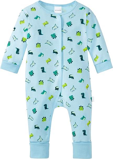 Schiesser Schlafanzug Baby Anzug Body mit Fuß  56 68 74 neu