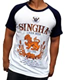 SINGHA Beer | camiseta para hombre (T-Shirt) | talla: S, M, L, XL, XXL