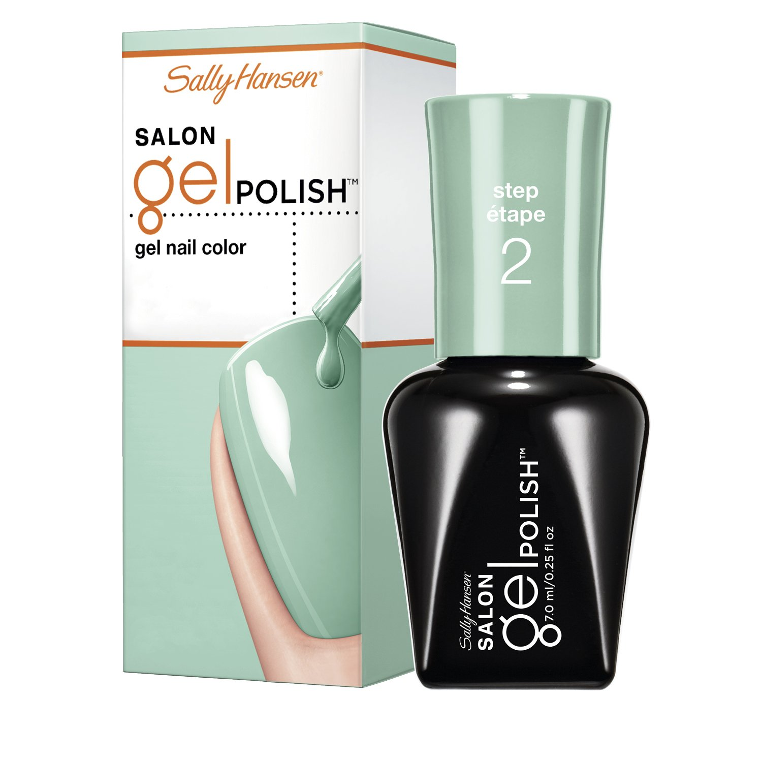 Sally Hansen Salon Pro Gel Jaded, 0.25 Fluid Ounce