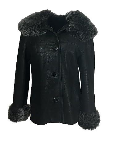 DX Leather Products - Abrigo - para mujer