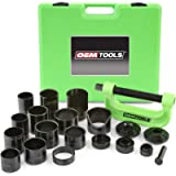 OEM TOOLS 25104 21 Piece Master Ball Joint Press Kit, Installs and Removes Ball Joints, U-Joints, and Brake Anchor Pins…
