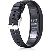 ZSZCXD for Garmin Vivofit 4 Bands, Newest Silicone WatchBand Strap Band Wristband for Garmin Vivofit 4(No Tracker)